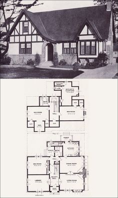 26 Best English Tutor House Images In 2017 Home Plans Vintage