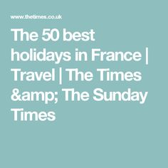 Best for Boating in the CamargueTake the family off the beaten track with a self-drive boating holiday in the south of France. The Guardians' Cruise is a new package from Le Boat and takes Boating Holidays, The Sunday Times, Self Driving, South Of France, France Travel, Holiday Fun, Amp, News