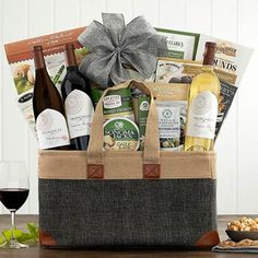 Wine Gift Baskets - California Wine Trio Gift Basket Wine Country Gift Baskets, Walnut Cookies, California Wine, Wine Gifts, Wines, Treats, Sweet, Sweet Like Candy, Candy