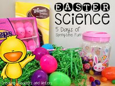 Creating Readers and Writers: Easter Science Fun