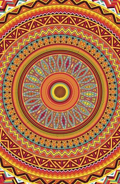 Psychedelic Furnishings for the Home Mandala Pattern, Mandala Art, Pattern Art, Cool Patterns, Textures Patterns, Zentangle, Hamsa Art, Rangoli Patterns, Circle Art