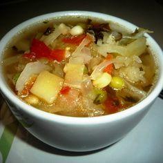 Sopa De Verduras Perfecta