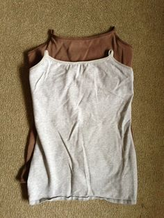 DIY Nursing Tank tops, because its hard to find a nursing tank that fits properly and doesn't cost a ton!