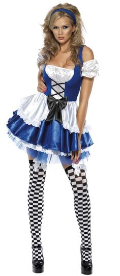 Sexy Alice in Wonderland Costume - Perfect for that Valentine's day party  one year i will wear this , not even sure i care about the occasion lol