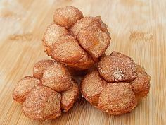 Mini monkey bread muffins by drizzle me skinny 1pp+/2 muffins or 3pp+/4 muffins