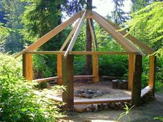 could be very cool spot at the creek or make a circle of many with courtyard in middle for mini-apt's
