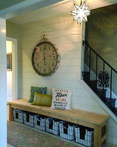 You are able to pull an easy decoration for the wall and allow the rug becomes the focus of the hallway. Not every DIY decoration must be complicated. DIY farmhouse decoration doesn't necessarily indicate that you want to earn your… Continue Reading → Decor, Affordable Farmhouse Decor, Country Decor, Decor Styles, Rustic Farmhouse, Entryway Decor, Home Decor, Country House Decor, Diy Entryway