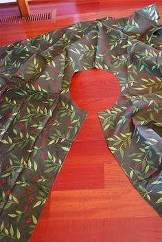 5 Minute Tree Skirt Tutorial