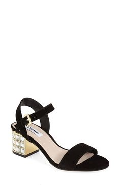 Nordstrom Heels - Dune+London+'Harah'+Block+Heel+Sandal+(Women)+available+at+ Block Heel Shoes, Shoe Closet, Strap Sandals, Fasion, Spring Summer Fashion, Me Too Shoes, Fashion Shoes, Shoe Boots, Look
