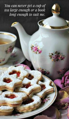 """""""You can never get a cup of tea large enough or a book long enough to suit me."""" ― C.S. Lewis // pipwestco"""