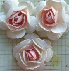 Live The Dream: Prima Style Flower Tutorial