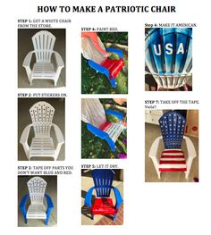 Patriotic Chair :)