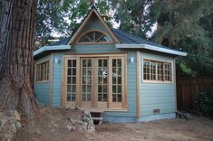 This Catalina workshop and storage shed is a great example of the multiple functionality of our larger modular structures Art Shed, Modular Structure, Backyard Studio, Small Buildings, Shed Plans, Home Studio, Prefab, Gazebo, Custom Design