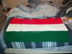 Irish flag for my brother-in-law Plant Hanger, Crochet Projects, Quilts, Blanket, Irish, Law, Brother, Furniture, Home Decor