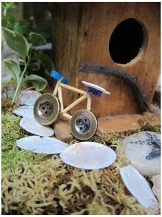 Mini Fairy Garden, Fairy Garden Houses, Gnome Garden, Fairy Houses Kids, Fairy Crafts, Garden Crafts, Garden Ideas, Garden Art, Garden Projects