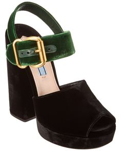 You need to see this Prada Velvet 130 Platform Sandal on Rue La La.  Get in and shop (quickly!): http://www.ruelala.com/boutique/product/98537/29414965?inv=emilyhensley19&aid=6191