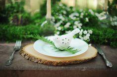 greenery filled wedding ideas - photo by ArinaB Photography http://ruffledblog.com/greenery-filled-wedding-ideas