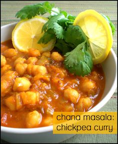 Chana Masala is my favorite Indian Dish, however I can never get it to look like the picture.