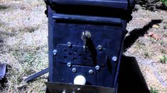 Ammo can stove. A great design with a lot of interesting features.