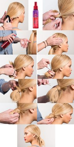 Tired of classic buns that all look kind of the same? Try out this low loop bun you can make in 10 minutes or less. You don't have to have