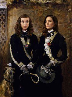 Margot and Alana Verger-Bloom Modern Renaissance Portrait (2015)
