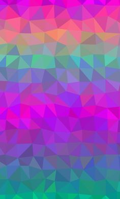 Colorful Wallpaper, Galaxy Wallpaper, Wallpaper Backgrounds, Iphone Wallpaper, Triangle Design, Prism Color, Happy Colors, Pretty And Cute, Pattern Wallpaper