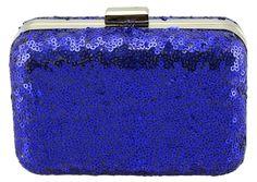 cc01fe9da Chá de Mulher é o seu e-commerce de moda feminina sustentável! Clutch Paete  Azul.