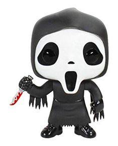 The masked villain from Wes Craven's horror movie series Scream has been given the Pop! Vinyl treatment with this Scream Ghostface Pop! Funko Pop Figures, Pop Vinyl Figures, Scary Movies, Horror Movies, Horror Art, Scary Characters, Horror Scream, Funko Pop Horror, Horror Films