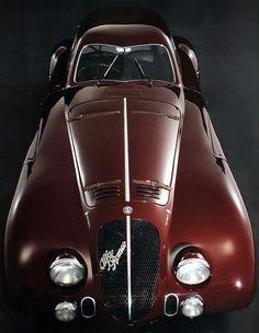 1938 Alfa Romeo 8C 2900B Le Mans Berlinetta  #alfa #alfaromeo #italiancars @automobiliahq