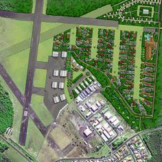 01 Evans Head Airpark & Township Evans, City Photo, Aviation, Air Ride