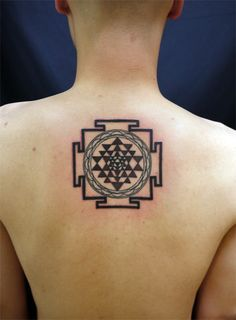 sri chakra yantra tattoo - Google Search