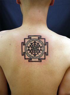 sri chakra yantra tattoo - Google Search