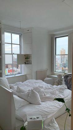Room Design Bedroom, Room Ideas Bedroom, Bedroom Decor, Bedroom Inspo, Room Interior, Interior Design, Cute Room Decor, Minimalist Room, Dream Apartment