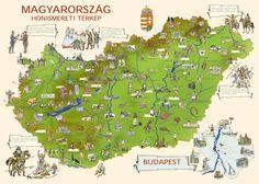 magyarország térkép - Google keresés Nature Study, Teaching History, Hungary, Geography, Preschool, About Me Blog, Montessori, Education, Learning