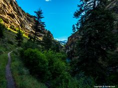 05/22/2015 - Returning from a trip to the northern part of the state, I spent the night in Riggins, Idaho. The next morning I went for a trail run along the Rapid River - one of my favorite runs!