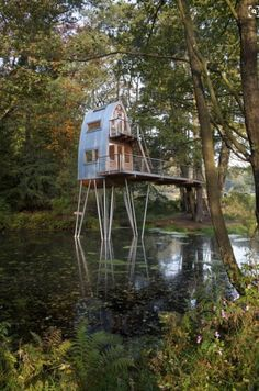 www.themohicans.net. They have a wedding venue and treehouses for your guests.