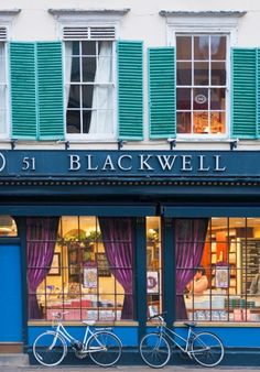 Blackwell's in Oxford - fantastic book store with new and used books. Oxford England, London England, Cornwall England, Yorkshire England, Yorkshire Dales, Highlands Scotland, Skye Scotland, England And Scotland, Dream City