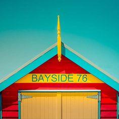 "Items similar to Beach photography - summer fine art photography print - vintage inspired retro summer beach house photo ""Bayside"" - clickety on Etsy Beach Photography, Artistic Photography, Fine Art Photography, Seaside Art, Seaside Beach, Summer Beach, Summer Time, Beach Shack, Beach Huts"