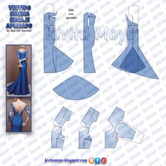 New Sewing Diy Dress Couture Ideas Diy Clothes Patterns, Skirt Patterns Sewing, Evening Dress Patterns, Wedding Dress Patterns, Fashion Sewing, Diy Fashion, Vestido Off Shoulder, Simple Short Dresses, Pattern Draping