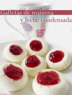 Kanela y Limón: galletas de maizena y leche condensada...Cornstarch and condensed milk cookies.