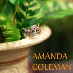AMANDA COLEMAN Palm Trees Silver Ring http://item.rakuten.co.jp/bon-eto/b6-amanda1224/