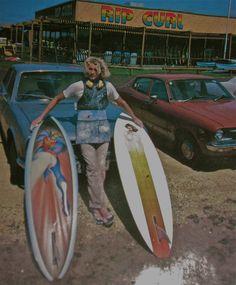 70s board shaper / vintage rip curl