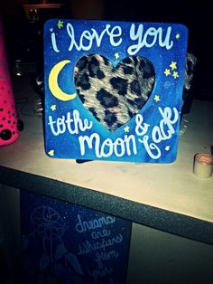 Picture frame that I made. ☺