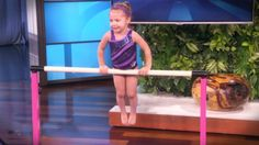 Emma is only 3 years old but this sweet little girl is already a gymnastic prodigy. And seeing her incredible routine will truly amaze you. How cute and talented is she!?!