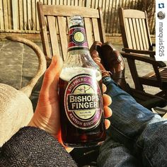 From @marquis525 via Instagram Bishops Finger, Beer Bottle, Brewing, Ale, Instagram, Beer, Brow Bar, Ale Beer, Ales