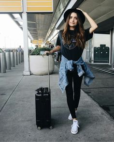 The beautiful Tess Christine fashion, travel, Airport
