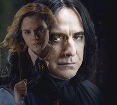 Snape Hermione by *MaggiesWorlds on deviantART