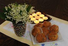 Gombás muffin Savoury Baking, Muffin, Biscuits, Grains, Sandwiches, Rice, Eggs, Snacks, Breakfast