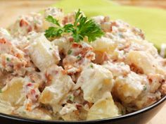 Southwestern Chipotle Potato Salad Recipe _ Where all of Grandmother's favorite recipes are found, just like Grandmother makes them, with a little love! Chipotle Potato Salad Recipe, Loaded Baked Potato Salad, Ranch Potato Salad, Creamy Potato Salad, Loaded Potato, Traeger Recipes, Grilling Recipes, Cooking Recipes, American Potato Salad