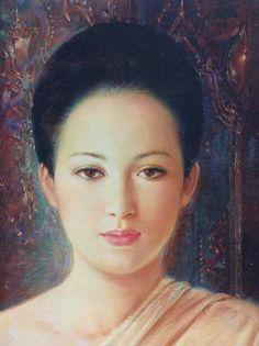 Artist Brush, Mona Lisa, Asian, Artwork, Work Of Art, Auguste Rodin Artwork, Artworks, Illustrators